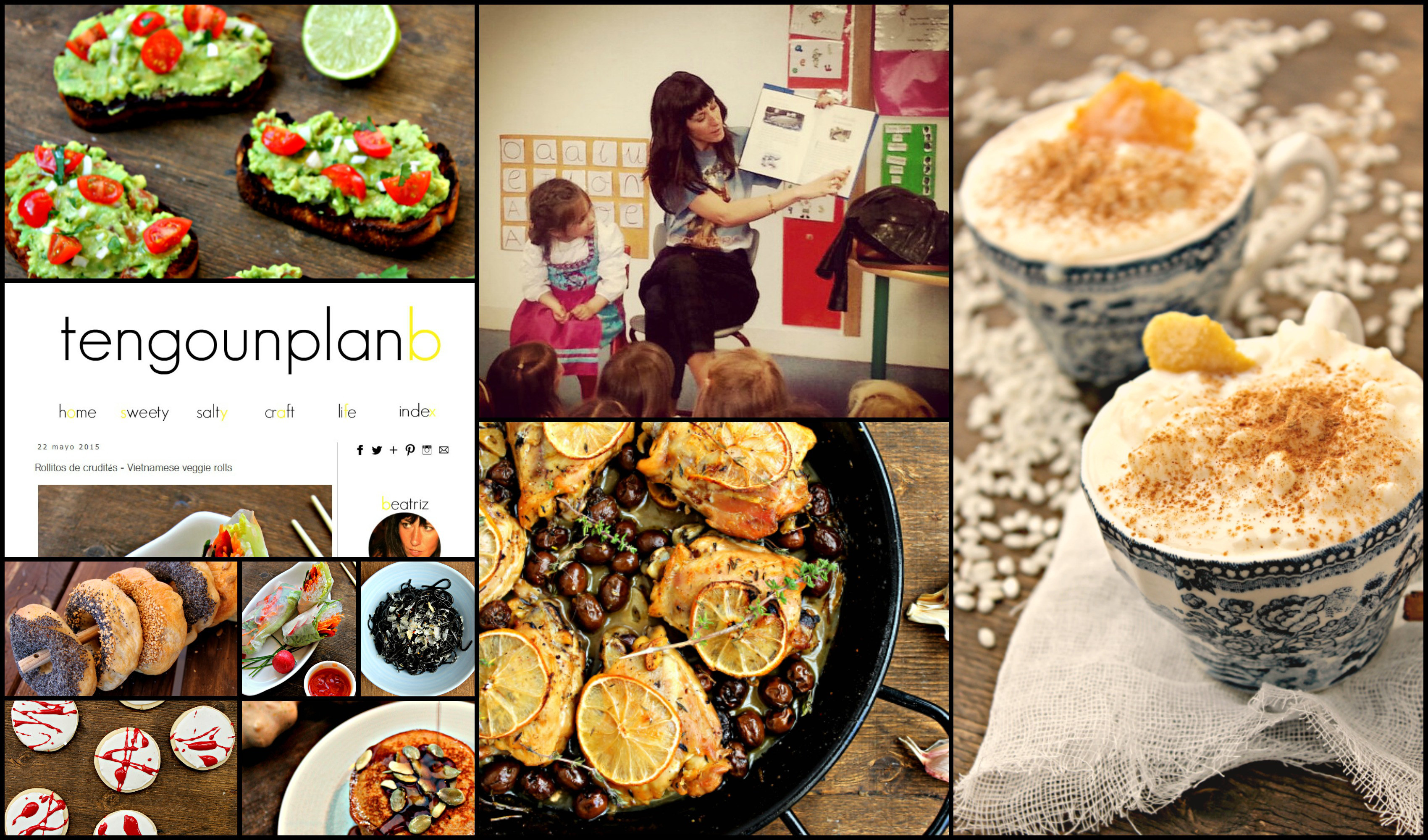 Imágenes del Blog y el Instagram de Tengo un Plan B