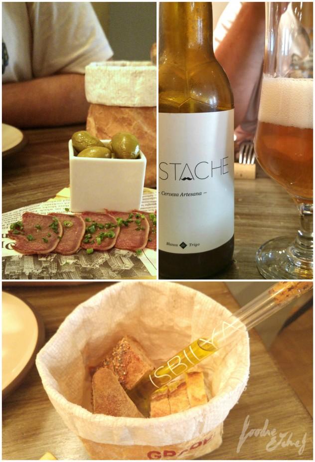 Una buena cerveza para un aperitivo de categoría - by BeaChan